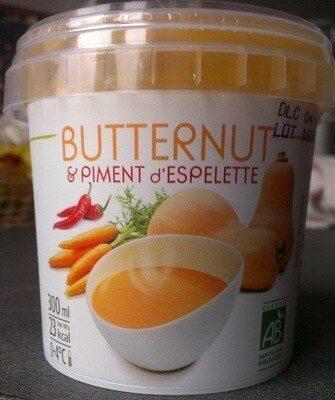 Butternut & Piment d'Espelette - Product - fr