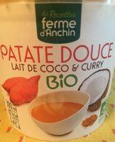 Soupe de patate douce, lait de coco & curry - Product - fr