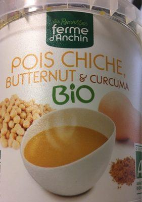 Pois chiche, butternut et curcuma - Product - fr