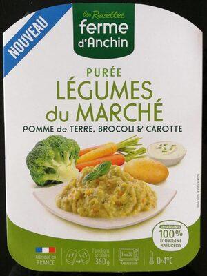 Purée légumes du marché - Product - fr