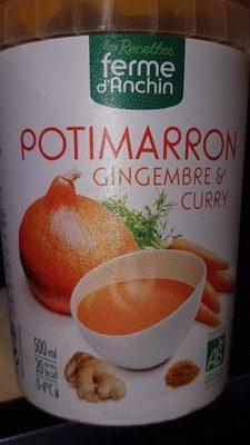 Soupe Potimarron gingembre et curry - Produit