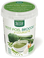 Petits pois, brocoli & courgette - Product - fr
