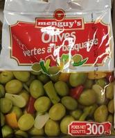 Olives vertes à la basquaise - Produit