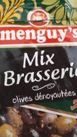 Melange d'olives denoyauteesaux cornichons - Produit - fr