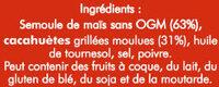 Soufflé de maïs à la cacahuètes - Ingredients