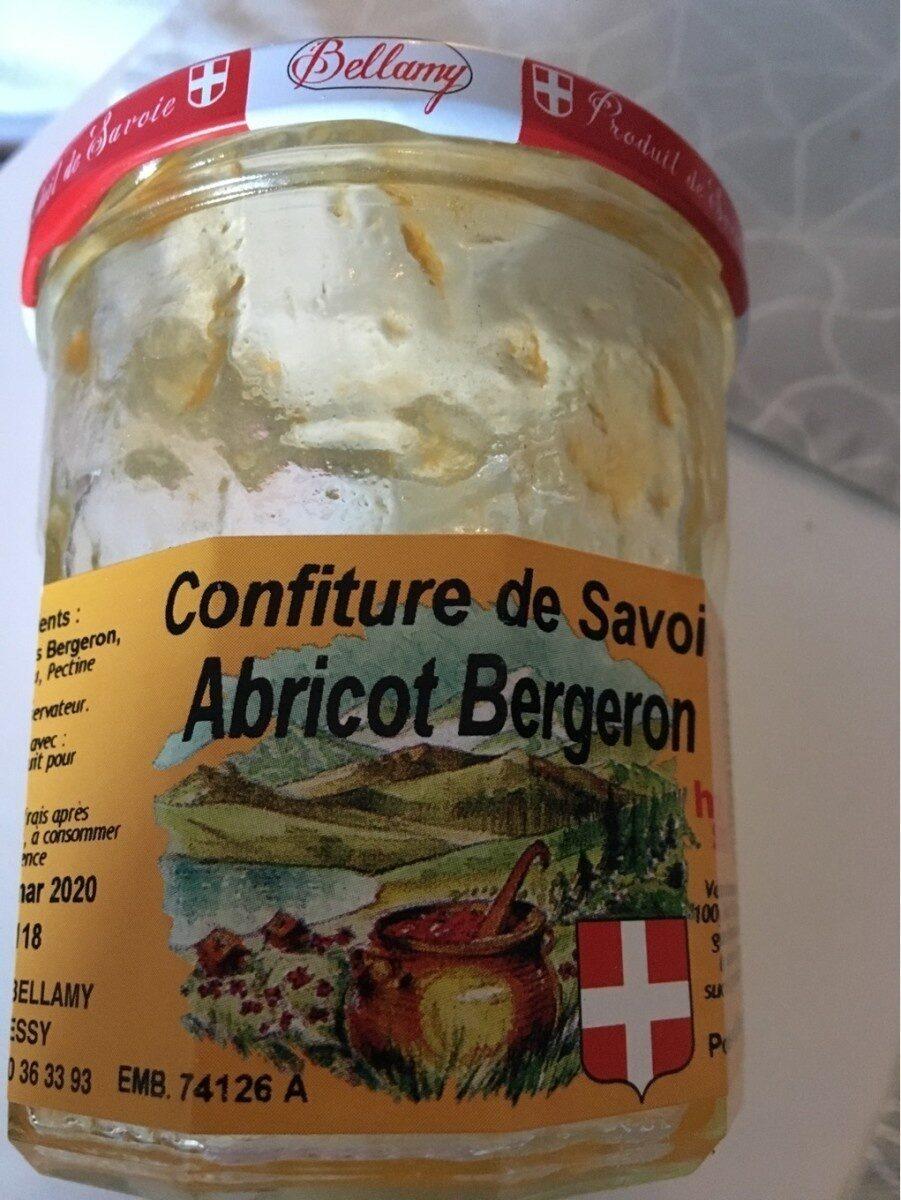 Confiture de savoie Abricot Bergeron - Prodotto - fr