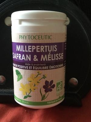 Millepertuis safran & mélisse - Produit