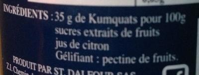 Kumquats - Ingrédients