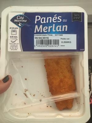 Panés au Merlan - Product