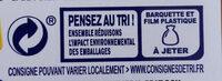 Panés au merlan - Recyclinginstructies en / of verpakkingsinformatie - fr