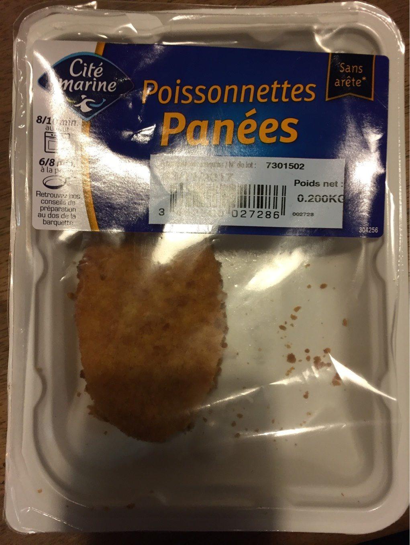Poissonnettes Panées - Product