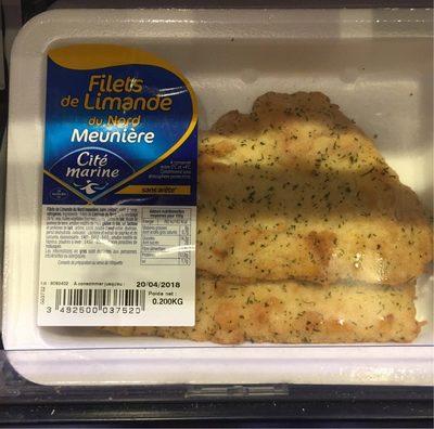 Filets de limande du nord - Product