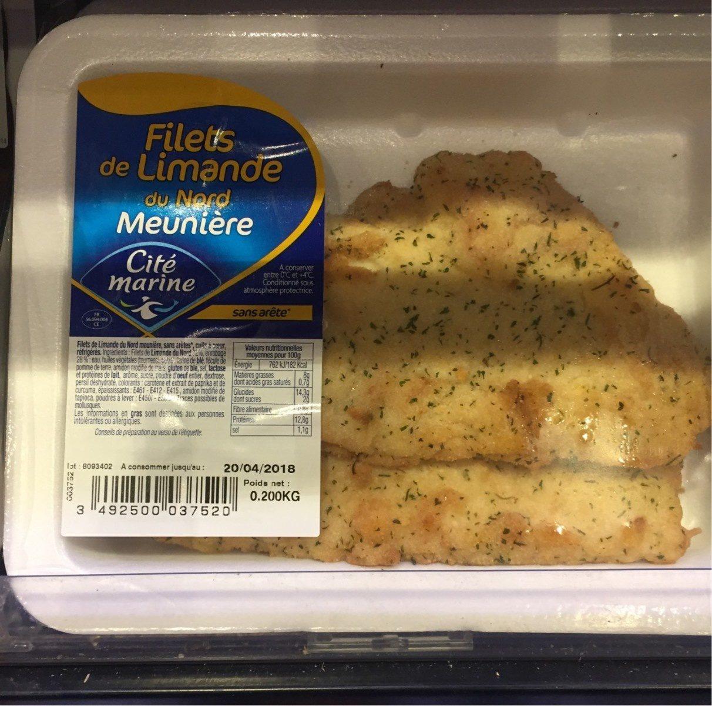 Filets de limande du nord - Product - fr