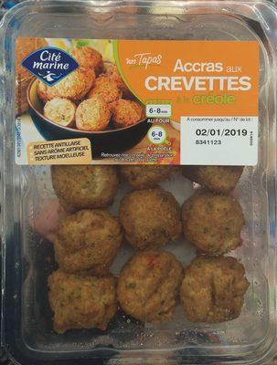 Accras aux Crevettes - Produit - fr