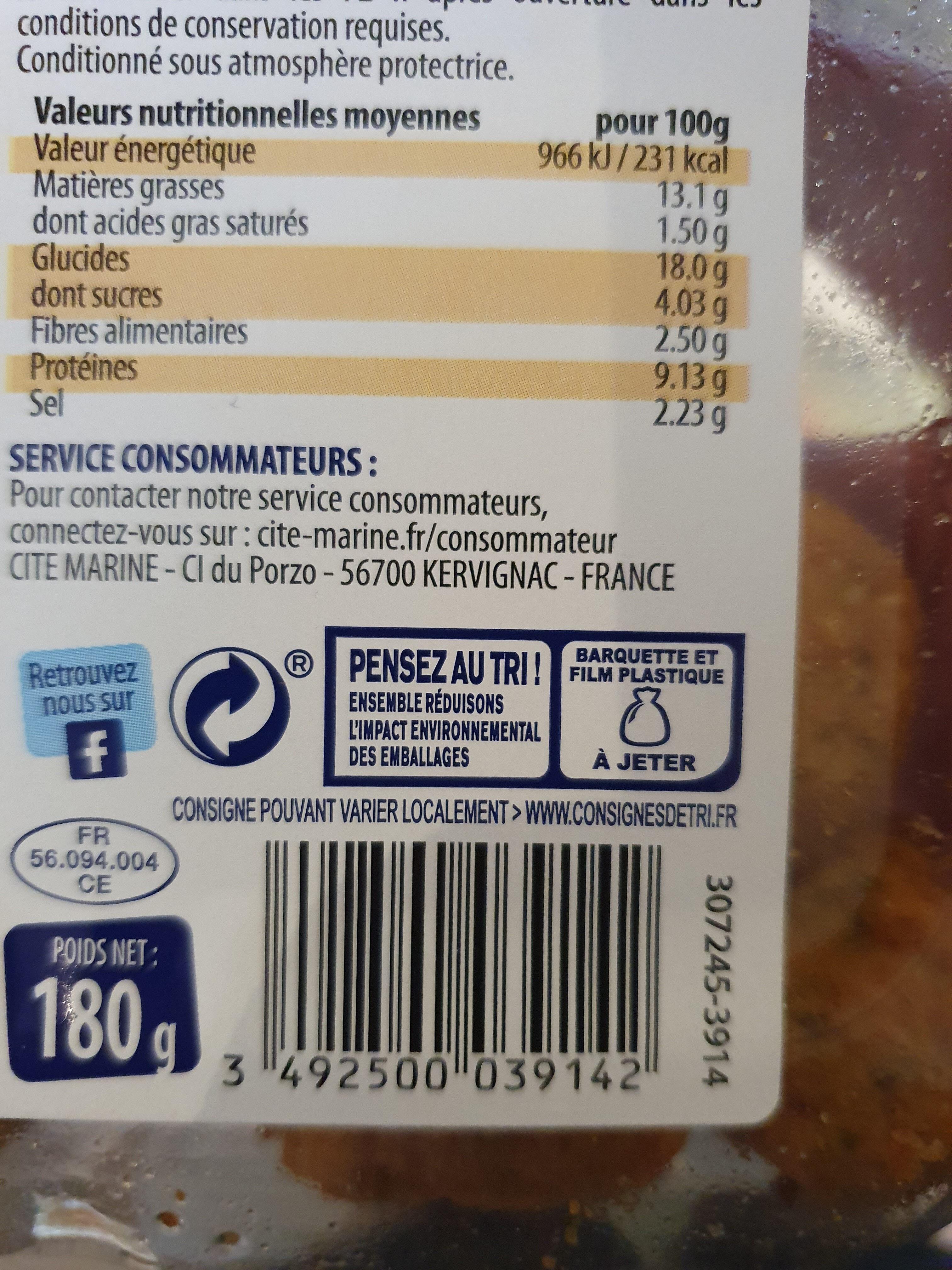 Accras aux Crevettes - Instruction de recyclage et/ou informations d'emballage - fr