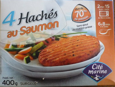 4 Hachés au Saumon - Product