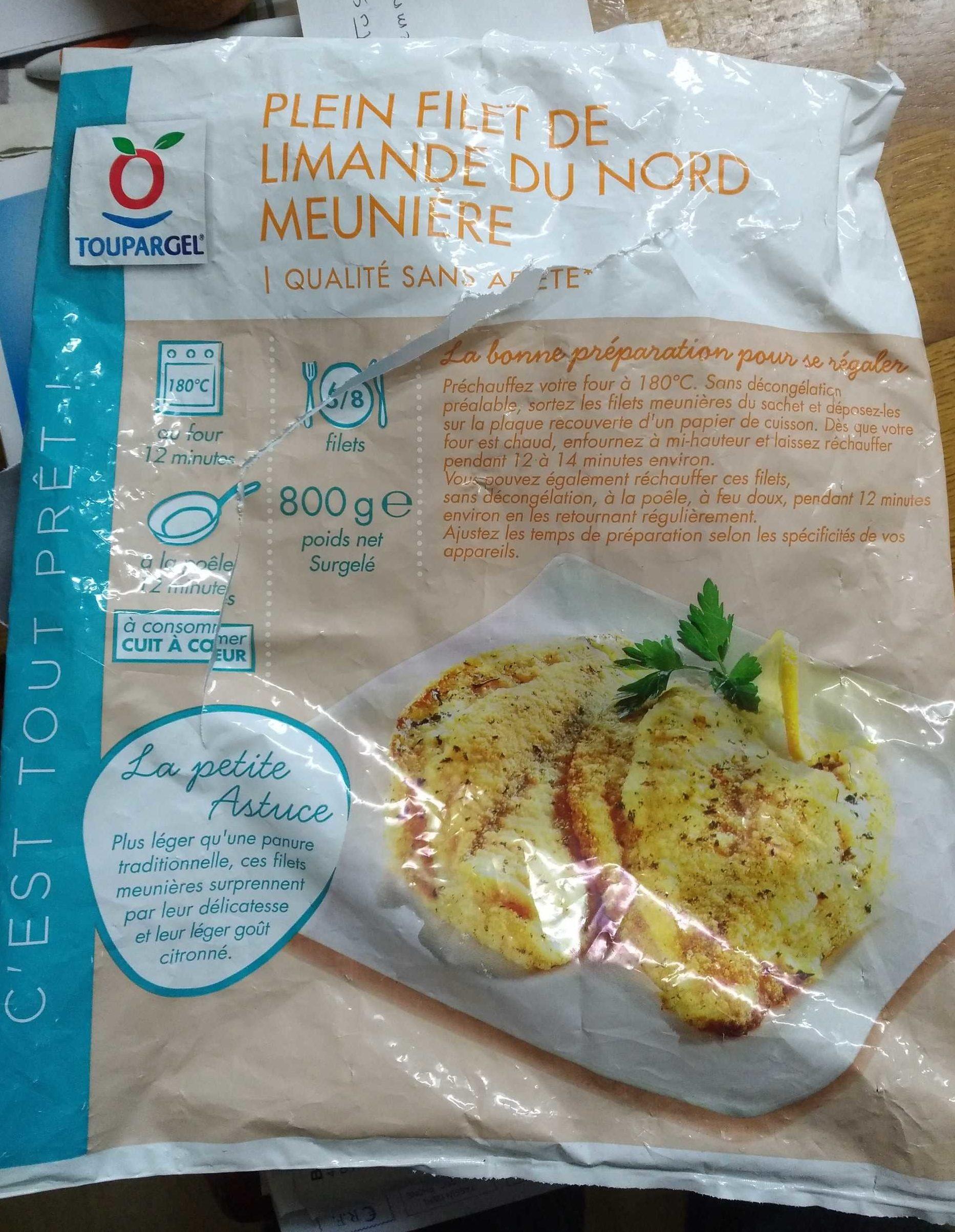 Plein Filet de Limande du Nord Meunière - Produit - fr