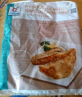 Plein filet de merlu blanc du Cap meunière - Product