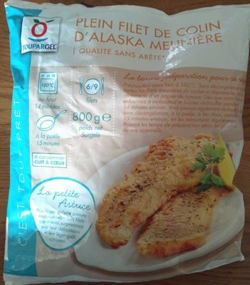 Plein Filet de Colin d'Alaska Meunière - Product