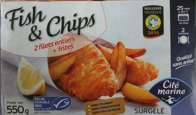 Fish & Chips - Product - fr