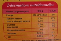 Fish & Chips - Voedingswaarden - fr