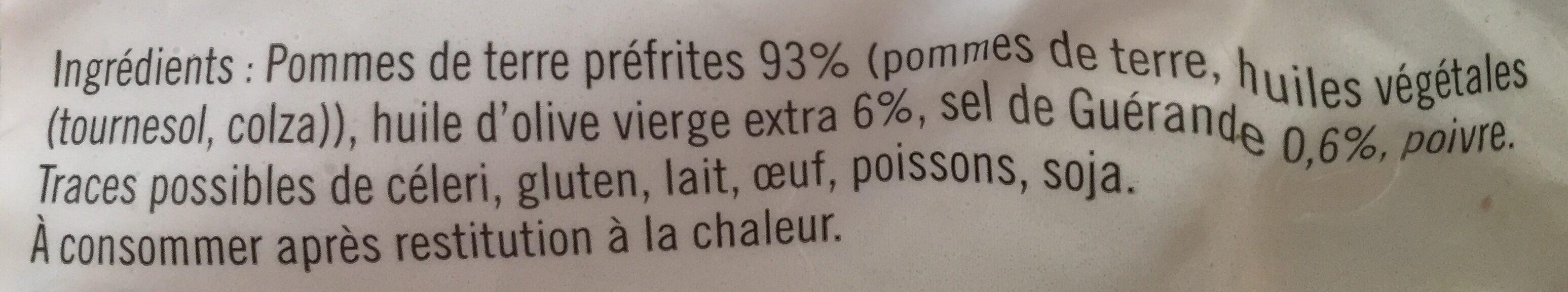 Poelee de pommes de terre Grenaille - Ingrediënten