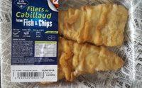 Filets de cabillaud façon fish & chips - Product