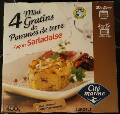 4 Mini Gratins de Pommes de terre façon sarladais - Product