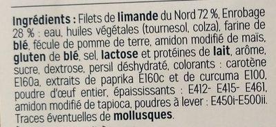 Filet de Limande du Nord Meunière - Ingrédients - fr