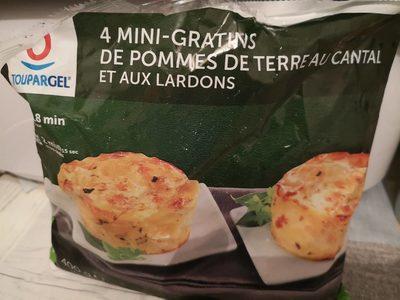 Gratins de pomme de terre au cantal et aux lardons - Produit