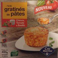 Gratinés de pâtes - Produit