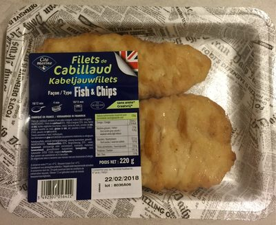 Filets de cabillaud - Produit - fr