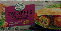 Falafels fèves, menthe et coriandre - Produit