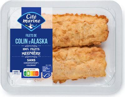 Filets de colin d'Alaska MSC meunière - Produit - fr