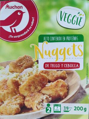 Nuggets de trigo y cebolla