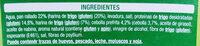 Nuggets de trigo y cebolla - Ingrédients
