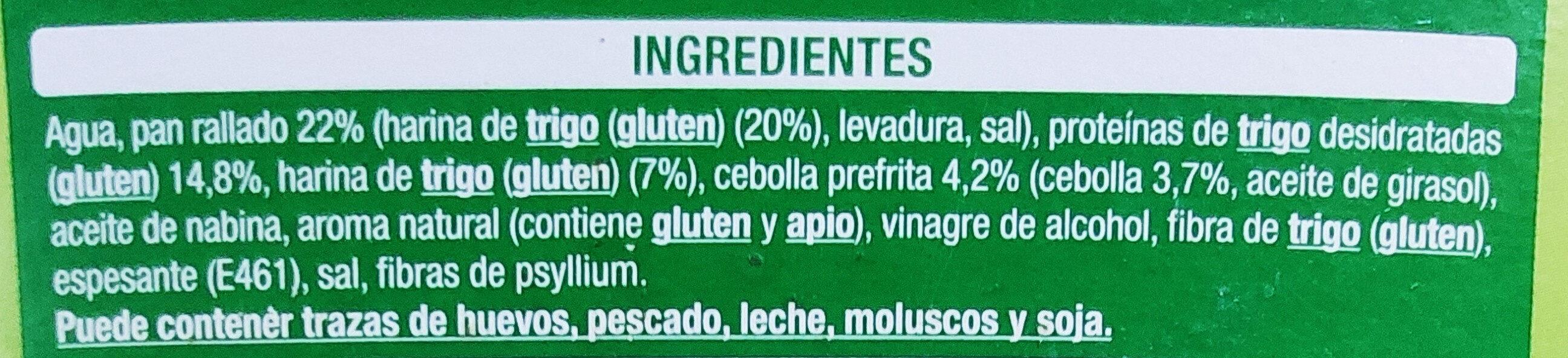 Nuggets de trigo y cebolla - Ingrédients - es