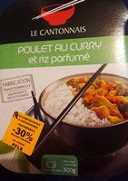 Poulet au Curry et riz parfumé - Produit
