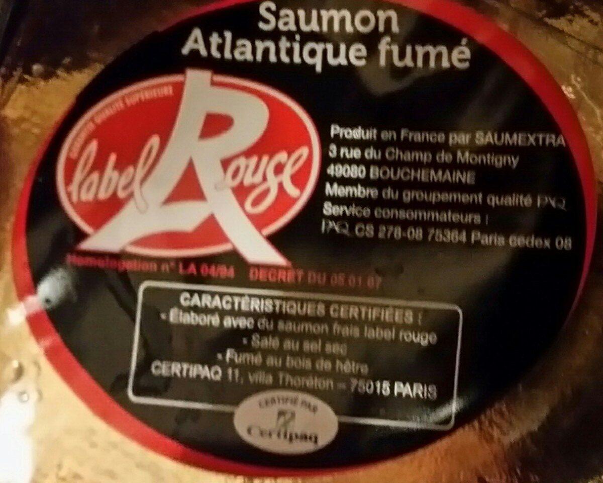 Saumon  fumé - Ingrédients - fr