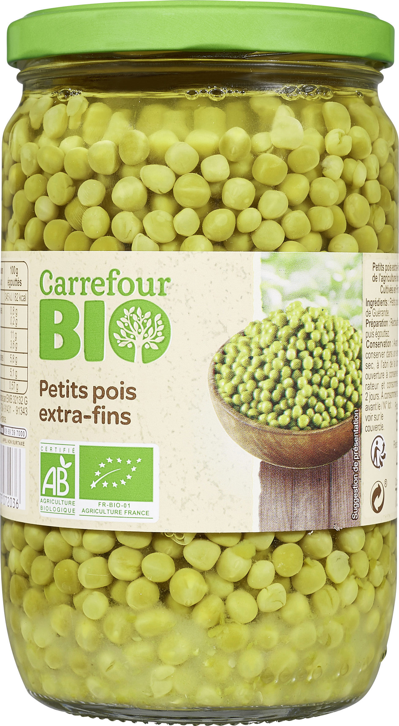 Petits pois extra-fins - Product - fr