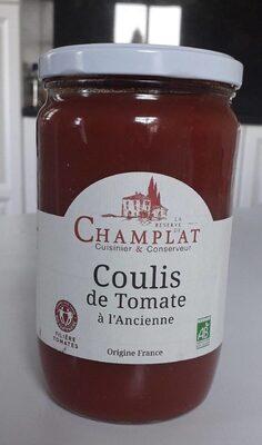 Coulis de tomates à l'ancienne - Produit - fr