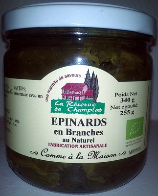 Epinards - Produit - fr