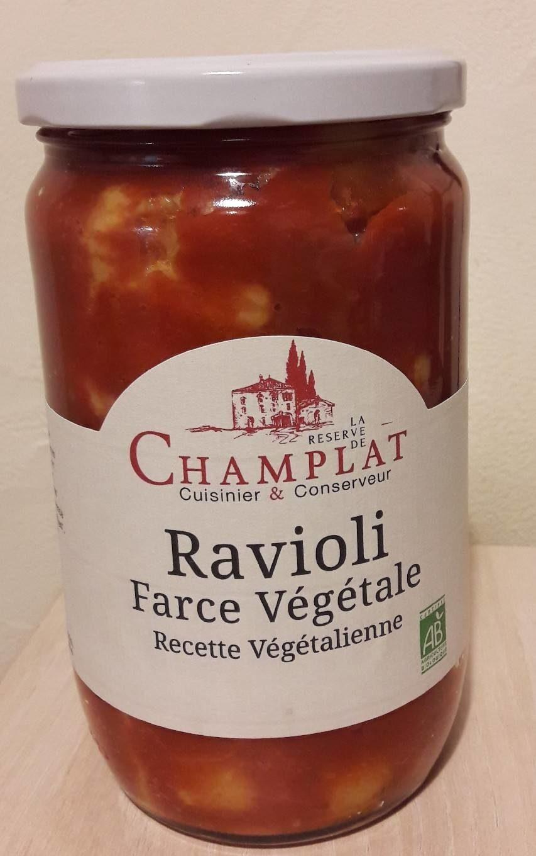 650G Ravioli Recette Vegetale - Produit - fr