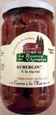 Aubergines à la niçoise - Produit - fr