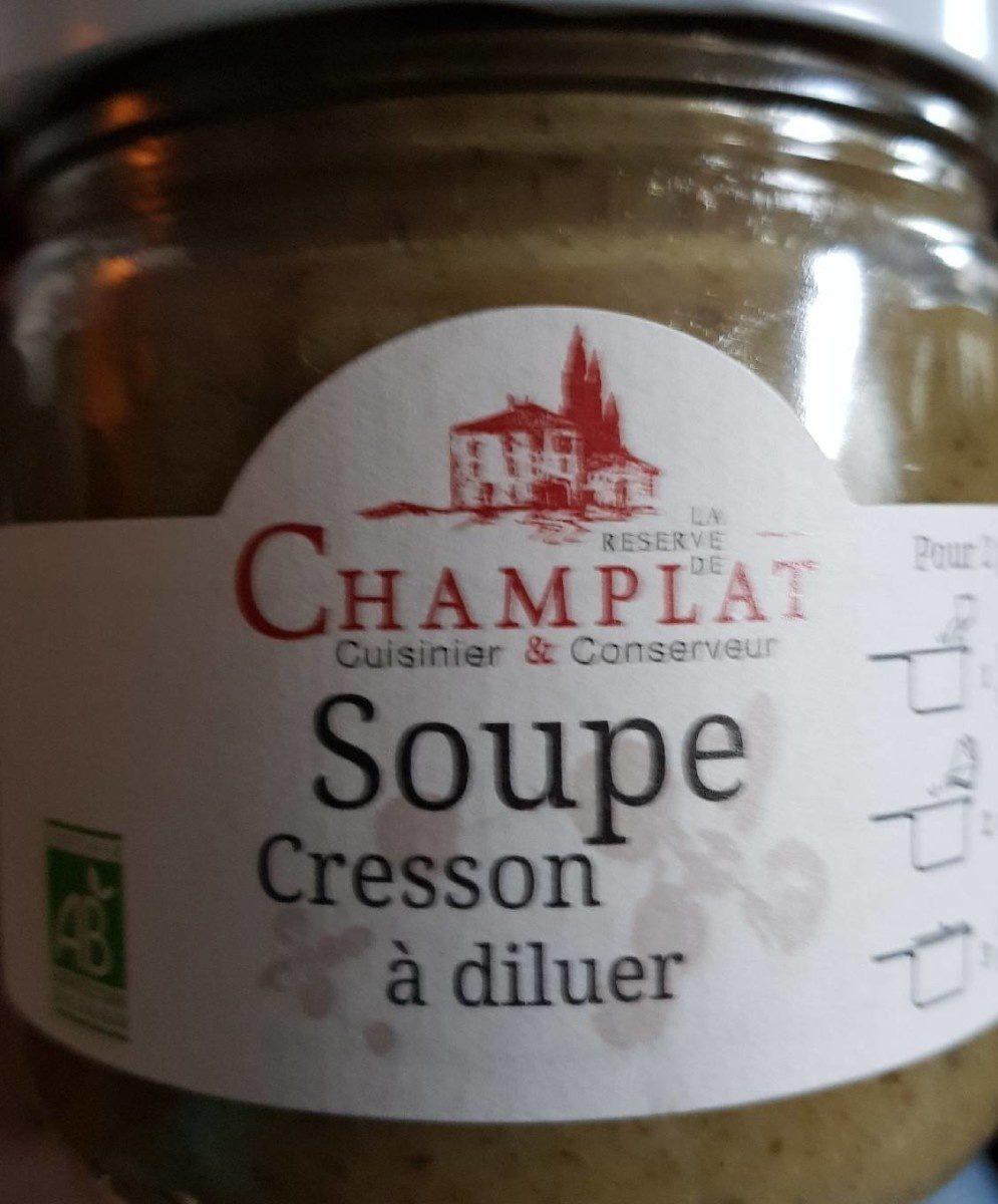 Soupe cresson à diluer - Produit - fr