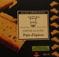 Glace pain d'epices - Product - fr