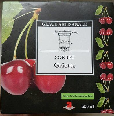 Sorbet Griotte - Produit