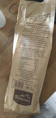 Ciabatta - Informations nutritionnelles