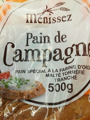Pain campagne - Product - fr
