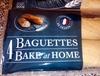 4 Baguettes Précuites - Produit